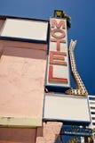 Vecchio segno del motel Fotografie Stock Libere da Diritti