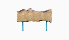 Vecchio segno di legno Immagini Stock
