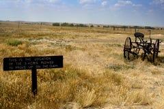 Vecchio segno di vita dell'azienda agricola fotografia stock