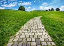 Vecchio sentiero per pedoni fotografia stock