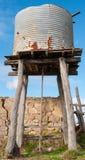 Vecchio serbatoio di acqua Fotografie Stock Libere da Diritti