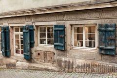 Vecchio Shopwindow Immagini Stock