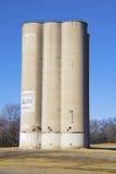 Vecchio silo di granulo Immagine Stock