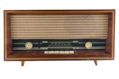 Vecchio sintonizzatore radiofonico immagine stock