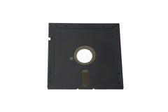 Vecchio sistema di archiviazione di dati: singolo floppy disk 5 Fotografia Stock Libera da Diritti