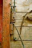 Vecchio sistema elettrico dei collegamenti Fotografie Stock Libere da Diritti