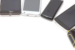 Vecchio Smart Phone fotografia stock libera da diritti