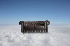 Vecchio sofà Fotografie Stock