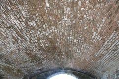 Vecchio soffitto della volta Fotografia Stock