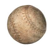 Vecchio softball fotografia stock libera da diritti