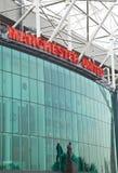 Vecchio stadio di Trafford - Manchester United Fotografia Stock Libera da Diritti