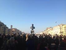 Vecchio staty i Florence Royaltyfri Fotografi