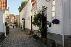 Vecchio Stavanger Fotografie Stock
