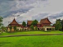 Vecchio stile della Camera tailandese Fotografie Stock