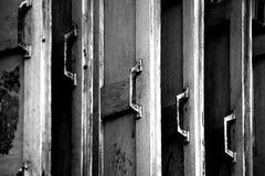 Vecchio stile della finestra Fotografia Stock