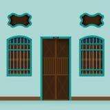 Vecchio stile di costruzione del Portoghese di Chino fotografia stock libera da diritti