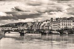 Vecchio stile di Firenze Fotografie Stock Libere da Diritti
