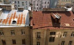 Vecchio stile urbano Fotografie Stock Libere da Diritti