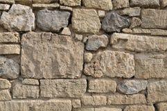 Vecchio stonewall Fotografie Stock