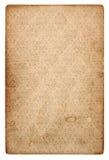 Vecchio strato d'annata della carta di lerciume con il modello Fotografia Stock