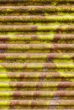 Vecchio strato ondulato Immagini Stock Libere da Diritti
