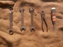 Vecchio strumento Fotografia Stock Libera da Diritti