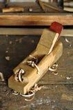 Vecchio strumento del carpentiere Fotografia Stock Libera da Diritti