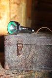 Vecchio strumento del cassetto Fotografie Stock