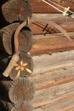 Vecchio strumento dell'azienda agricola della falce Fotografia Stock