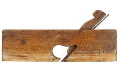 Vecchio strumento della piallatrice Fotografie Stock Libere da Diritti