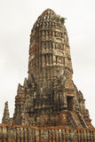 Vecchio Stupa a Ayutthaya, Tailandia Fotografia Stock