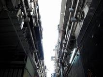 Vecchio substreet a Bangkok immagini stock