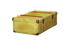 Vecchio suitcace Fotografia Stock
