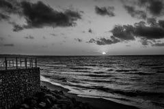 Vecchio Sun nero Fotografie Stock Libere da Diritti