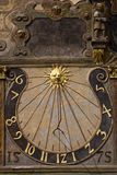 Vecchio sundial Fotografia Stock Libera da Diritti