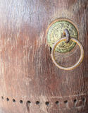 Vecchio tamburo di danno Fotografia Stock Libera da Diritti