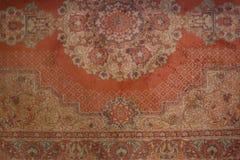 Vecchio tappeto sbiadito immagini stock