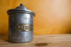 Vecchio tazza da the Fotografia Stock Libera da Diritti