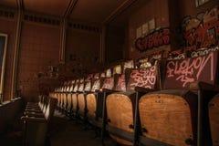 Vecchio teatro Immagini Stock