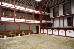 Vecchio teatro a Almagro, Spagna Fotografie Stock