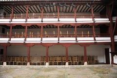 Vecchio teatro a Almagro, Spagna Fotografia Stock Libera da Diritti