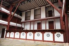 Vecchio teatro a Almagro, Spagna Fotografie Stock Libere da Diritti