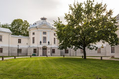 Vecchio teatro anatomico in Tartu, Estonia fotografie stock