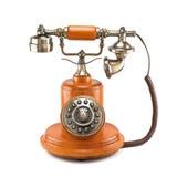 Vecchio telefono Immagini Stock