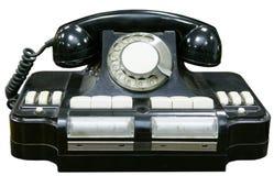 Vecchio telefono fotografie stock libere da diritti