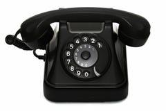 Vecchio telefono dell'annata Fotografie Stock