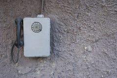 Vecchio telefono dell'annata Fotografia Stock Libera da Diritti