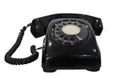Vecchio telefono rotativo Immagine Stock