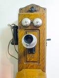Vecchio telefono storto di stile Immagine Stock Libera da Diritti