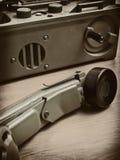 Vecchio telehone polacco Fotografie Stock Libere da Diritti